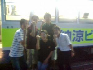 7月23日(水)ビール電車2