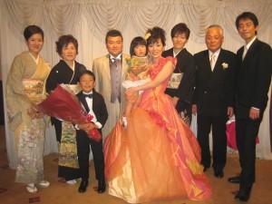 090509友宏さん&真紀さんwithご家族