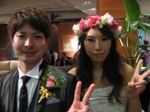 郁弥さん&三由希さん 結婚披露パーティ