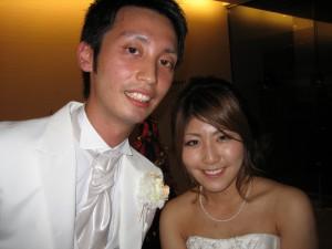 暢俊さん・沙弓さん 結婚披露パーティ