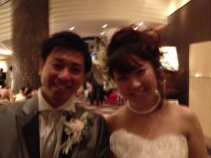 泰貴さん・美希さん 結婚披露パーティ