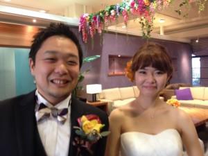 峻さん・春菜さん 結婚披露パーティ