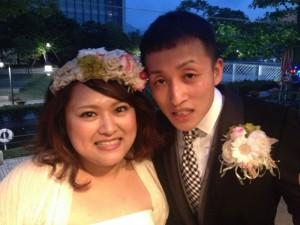 翔平さん・里美さん プランニング結婚披露パーティ