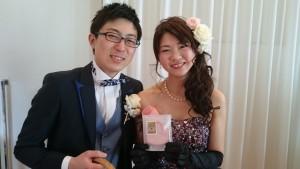 誠さん&真由美さん♪