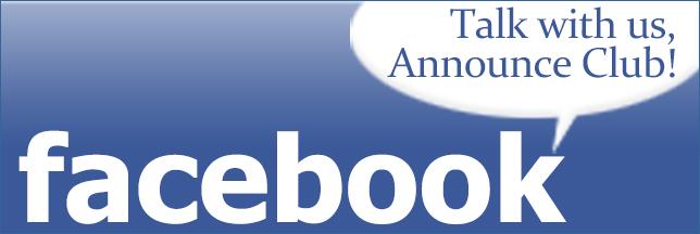 アナウンス倶楽部のFacebookページ